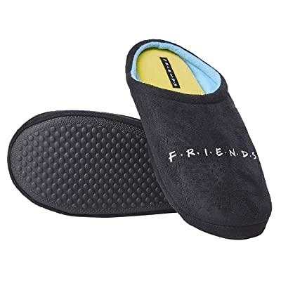 FRIENDS Throwback Logo Slippers Sitcom Apparel Accessories | Slippers