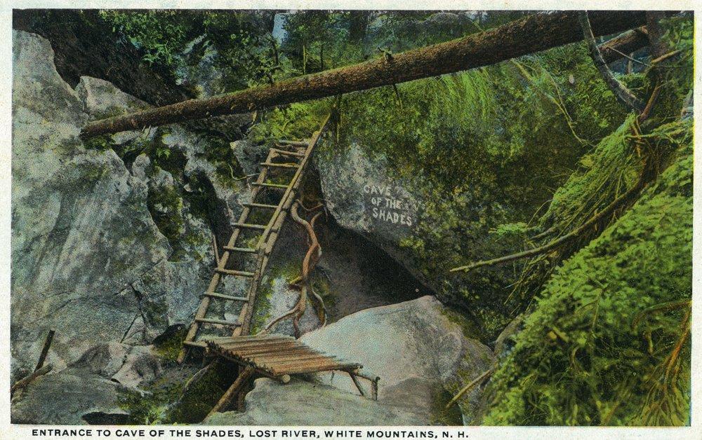 ホワイト山、New Hampshire – Entrance Toの洞窟シェード、失われた川 24 x 36 Giclee Print LANT-20701-24x36 B017ZJO84W  24 x 36 Giclee Print