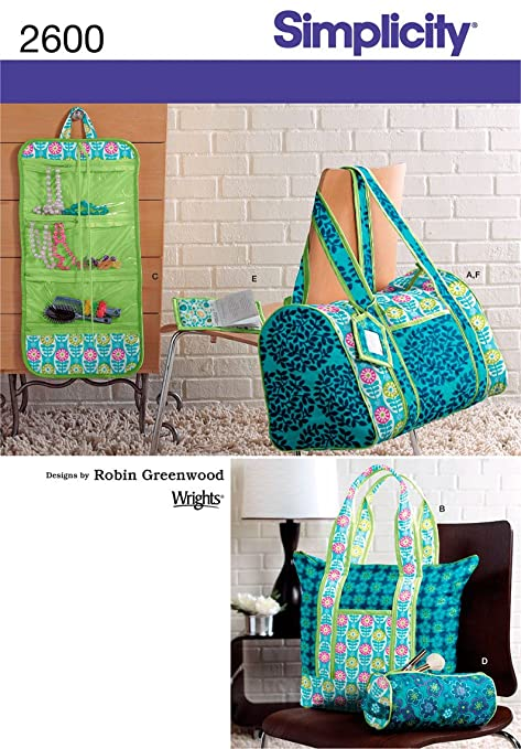 Simplicity Sewing Pattern 2600 Accessories Amazon Kitchen Home