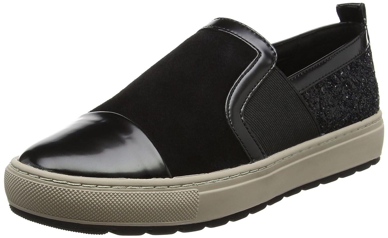 Geox D Breeda a, Zapatillas para Mujer 39 EU|Negro (Black)