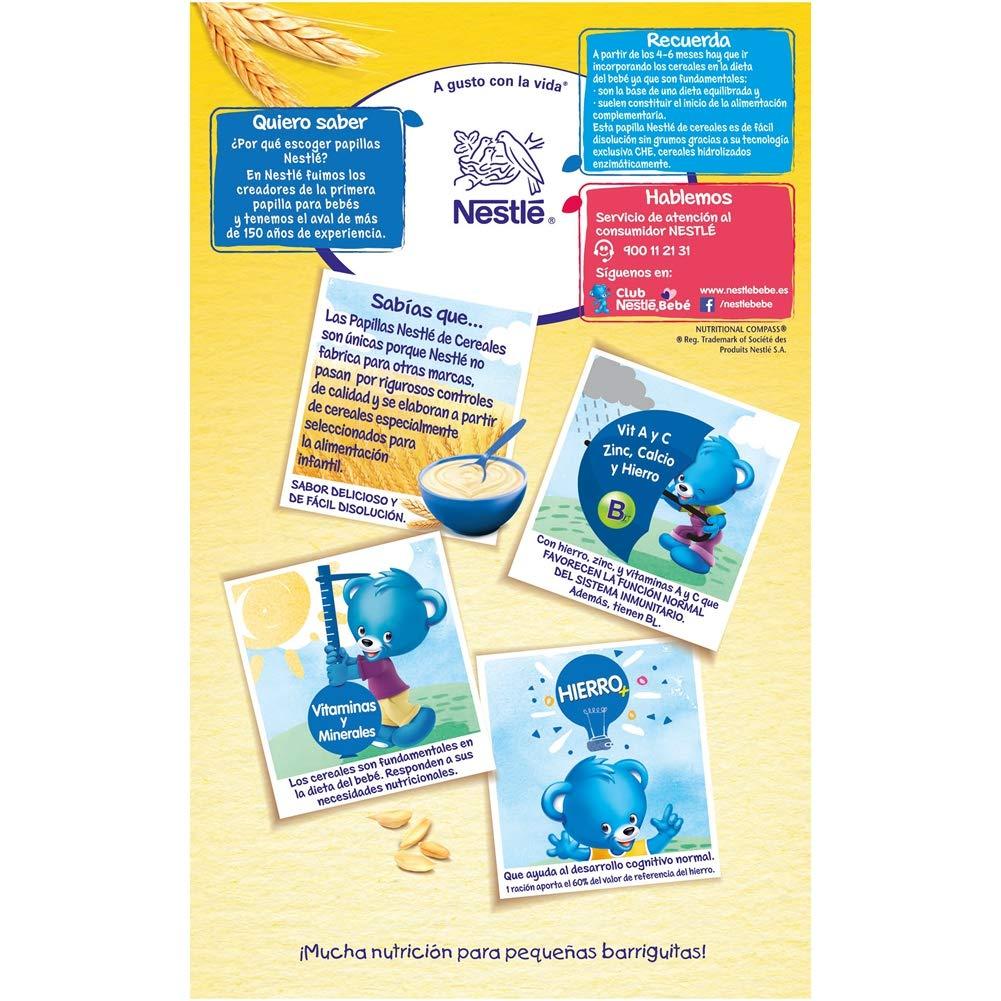 Nestlé Papillas NESTUM, Cereales para bebé - Con miel, 3 de 650 gr -Total 1950 gr: Amazon.es: Alimentación y bebidas