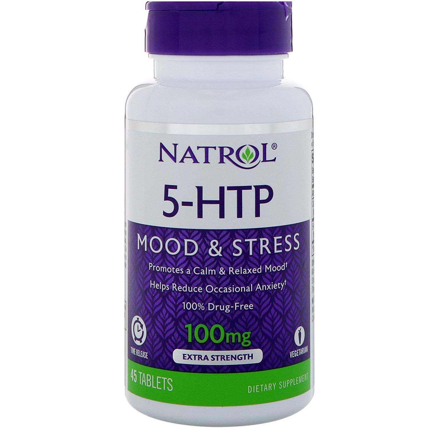 Natrol 5-Htp 100mg Time Release top 5 natural sleep supplements - 71rxAMXYYBL - Top 5 Natural sleep supplements – reviews and buying guide
