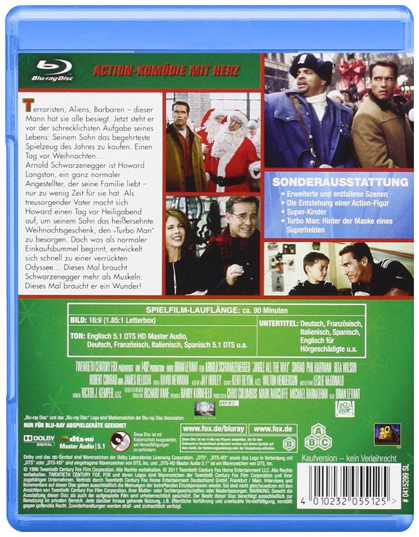 Versprochen ist versprochen [Alemania] [Blu-ray]: Amazon.es: Arnold Schwarzenegger, Sinbad, Rita Wilson, Robert Conrad, Jim Belushi, Phil Hartman, ...
