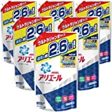 【ケース販売】 アリエール 洗濯洗剤 液体 イオンパワージェル 詰め替え ウルトラジャンボ 1.90kg×6個