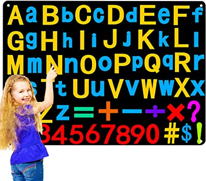A-Z 1-14 or 1-12/'/' school preschool felt board sew on glue on Felt alphabet 26 letters patch precut craft supply upper case