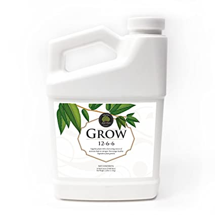 Age Old Grow Natural Based Liquid Fertilizer, 32-Ounce