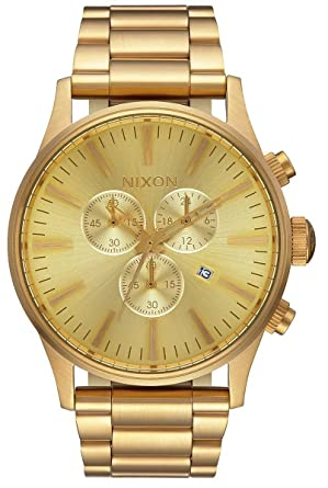 Nixon Sentry Chrono A386-502 Mens Chronograph Design Highlight