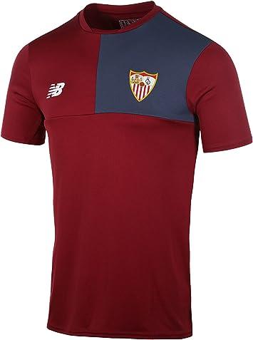 Camiseta Entrenamiento FC Sevilla Rojo, L: Amazon.es: Deportes y aire libre