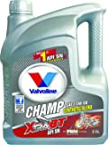 Valvoline Champ Xtra BT 15W50 Synthetic Blend Petrol Engine Oil (2.5 L)