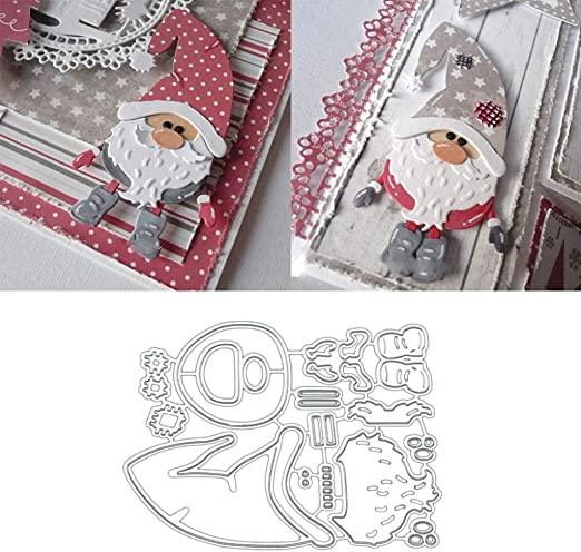 Metal Cutting Dies Small girl  Stencils For Card Making Decorative Embossing