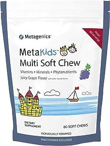 Metagenics MetaKids™ Multi Soft Chews – Vitamins. Minerals. Phytonutrients | 60 Servings