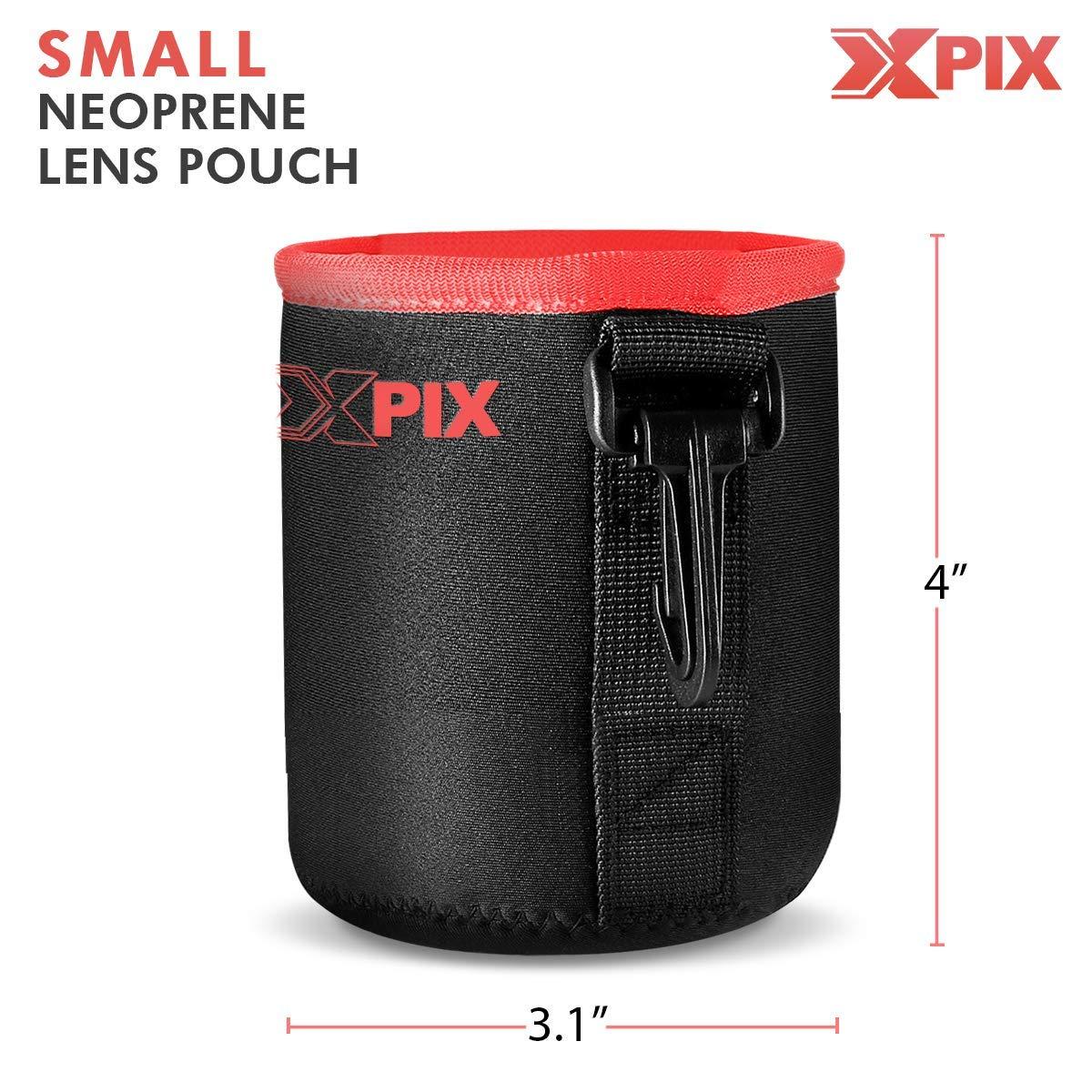 Basic Bundle with UV Lens Filter Xpix Professional Handling Accessories Lens Pouch Nikon AF-S DX NIKKOR 35mm f//1.8G Lens