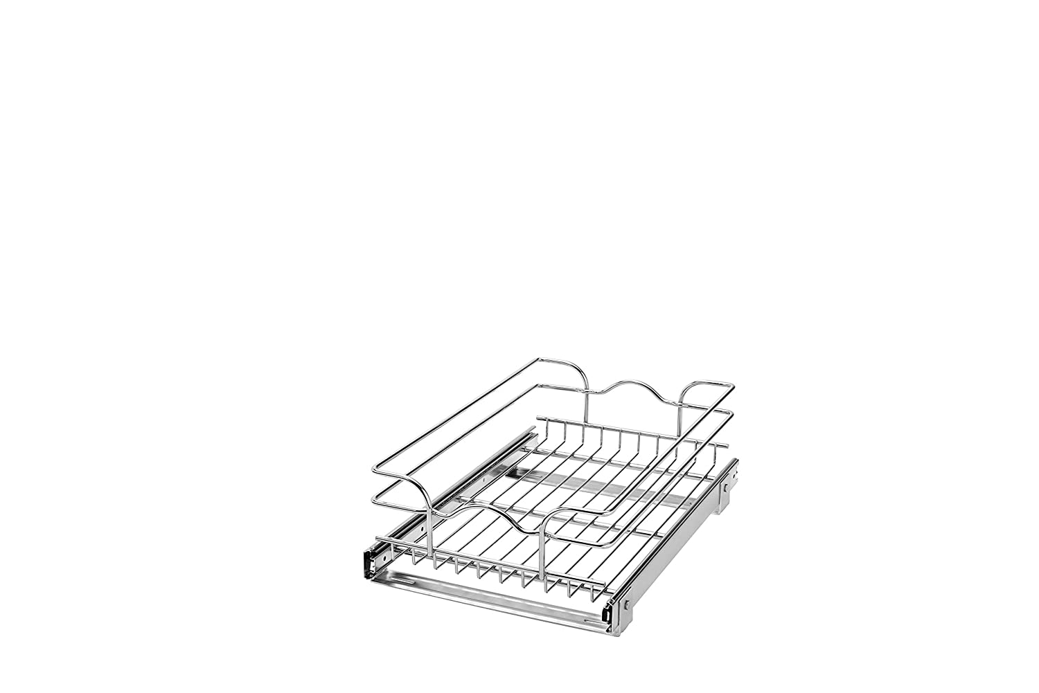 Rev-A-Shelf 5WB1-1218-CR 12' W X 18' D Base Cabinet Pull-Out Chrome Wire Basket