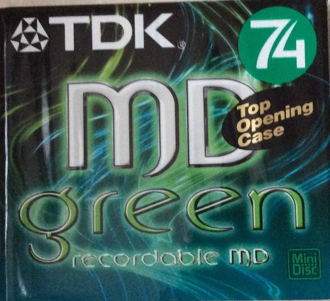 Tdk Minidisc Grün 74 Min Computer Zubehör