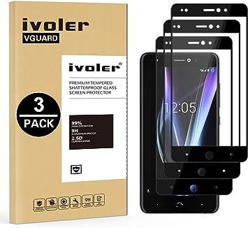 ivoler [3 Unidades] Protector de Pantalla para BQ Aquaris X Pro/BQ ...