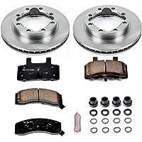 5lug Front Kit 2 OEM Replacement Great-Life Premium Disc Brake Rotors -Combo Brake Kit- 4 Ceramic Pads SHIPS FROM USA!!-Tax Incl.