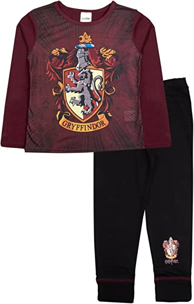 Girls Harry Potter Pyjamas PJs Nightwear School of Witchcraft Hogwarts 3-10yrs