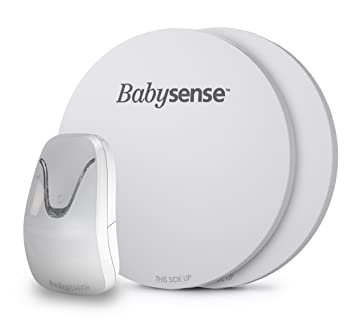 New Babysense 7 - Under-The-Mattress Baby Movement Monitor - The Original Non-Contact Infant Monitor - Full Bed Coverage with 2 Sensor Pads - Now with ...