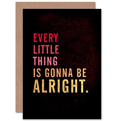Amazon Wee Blue Coo New Every Little Thing Gonna Be Alright