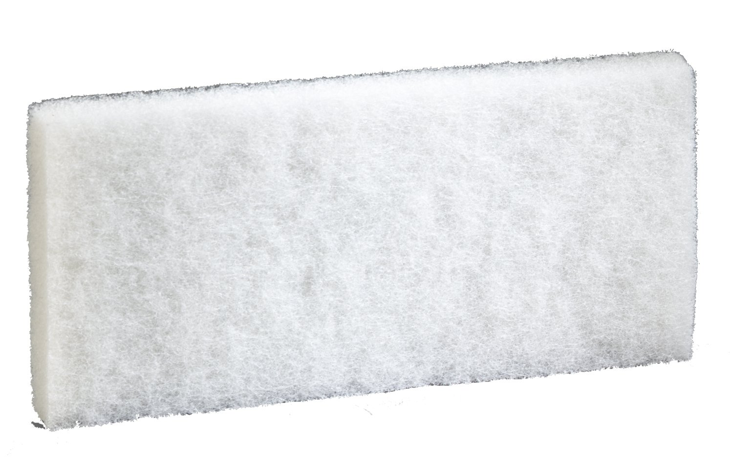 3M Doodlebug  Cleaning Pad 8440, White, 4.625'' x 10'' (Case of 2,500)
