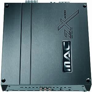 4 canales Mac Audio ZXS 4000 negro 1104450 Amplificador audio de coche