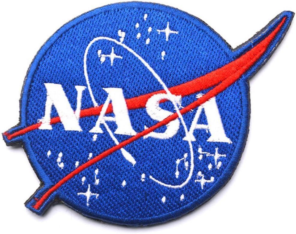 Nasa programa espacial de logotipo vector parche emblema táctico ...