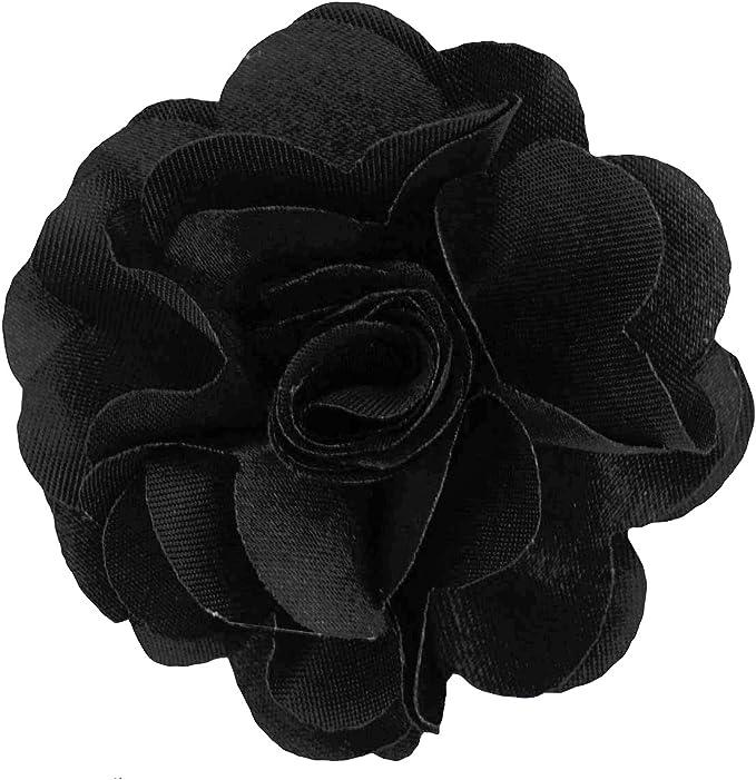 Amazon.com: Pin de flor de solapa para hombre, talla única ...