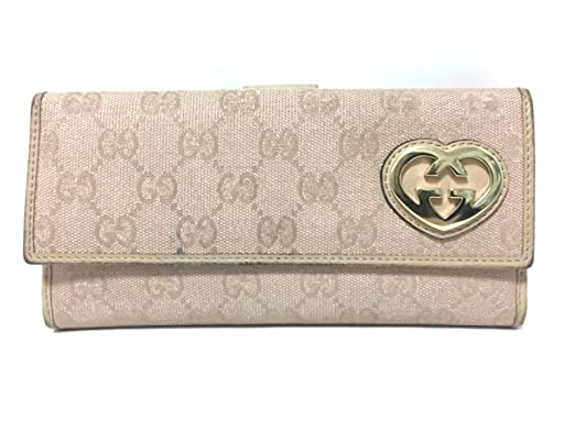 100% authentic 7a65c 0a193 Amazon.co.jp: (グッチ)GUCCI 長財布 GG柄 ピンク×ゴールド ...