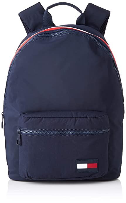 Tommy Hilfiger - Sport Mix Backpack, Mochilas Hombre, Azul (Tommy Navy),
