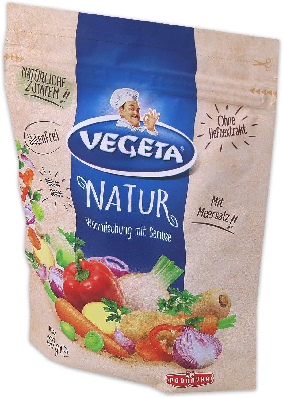 Podravka Vegeta Natur Condimento De Alimentos Universal 150 g Bolsa: Amazon.es: Alimentación y bebidas