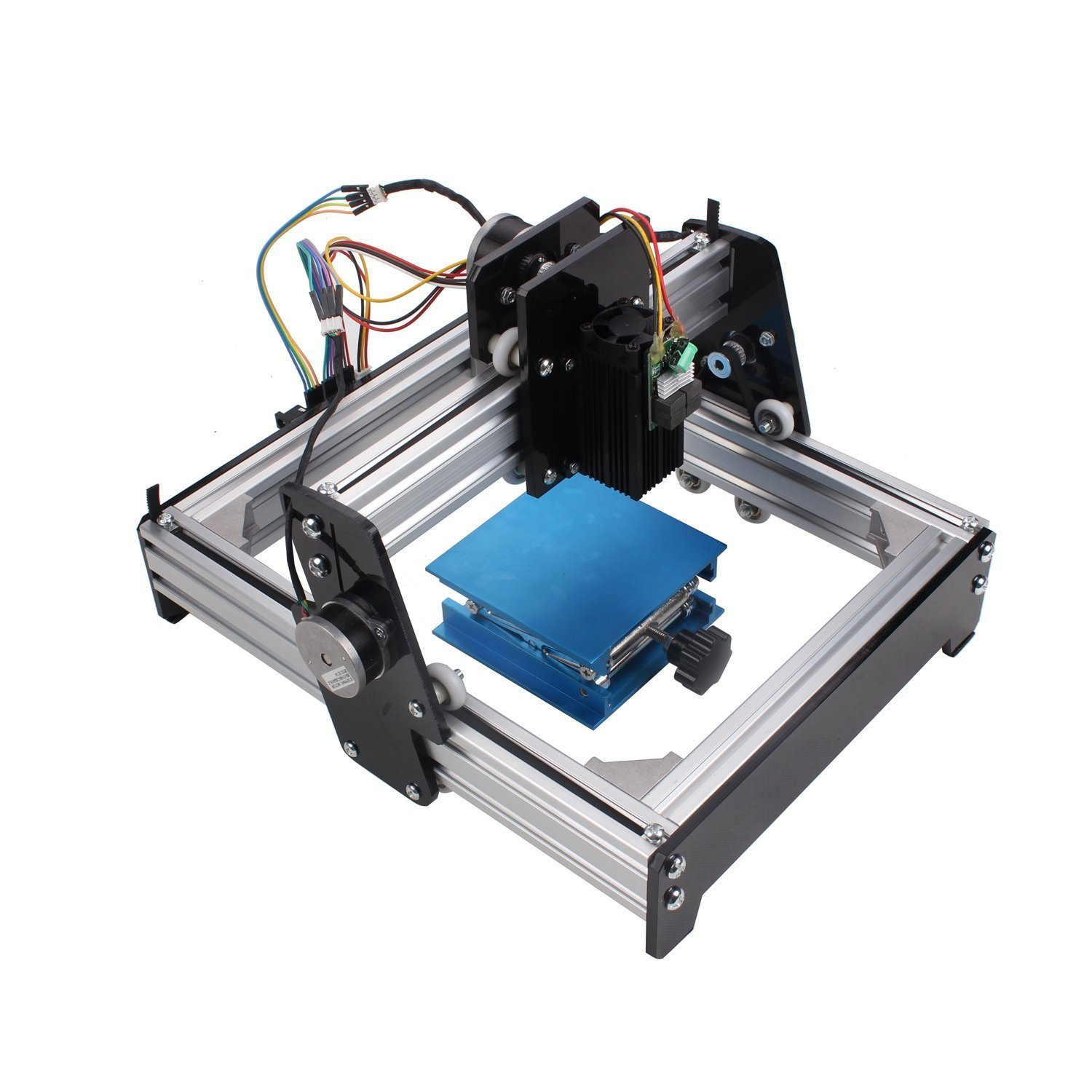 Sunwin 15w Mini Diy Laser Engraver Metal Steel Iron Stone Wood Image Lab Equipment How To Etch Your Own Circuit Boards Using A Logo Print Marking Industrial Scientific
