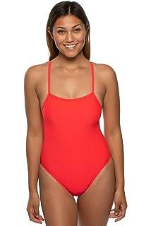 Amazon.com: JOLYN traje de baño deportivo de una pieza con ...