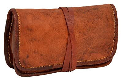 e73ecee2b2b3 Leather Pouch Gusti Leder nature  quot Bradley quot  Stationery Wrap Case  Handmade Pouch Tobacco Battery