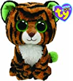Ty UK 6-inch Stripes Beanie Boo Plush
