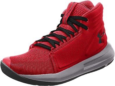 Leia Cuarto Descolorar  Amazon.com: Under Armour - Zapatillas de baloncesto para niños: Shoes
