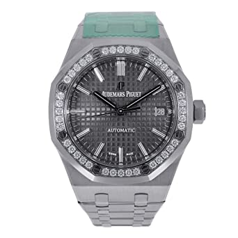 8b96d95790bbb Image Unavailable. Image not available for. Color  Audemars Piguet Royal  Oak Selfwinding 37mm Watch ...