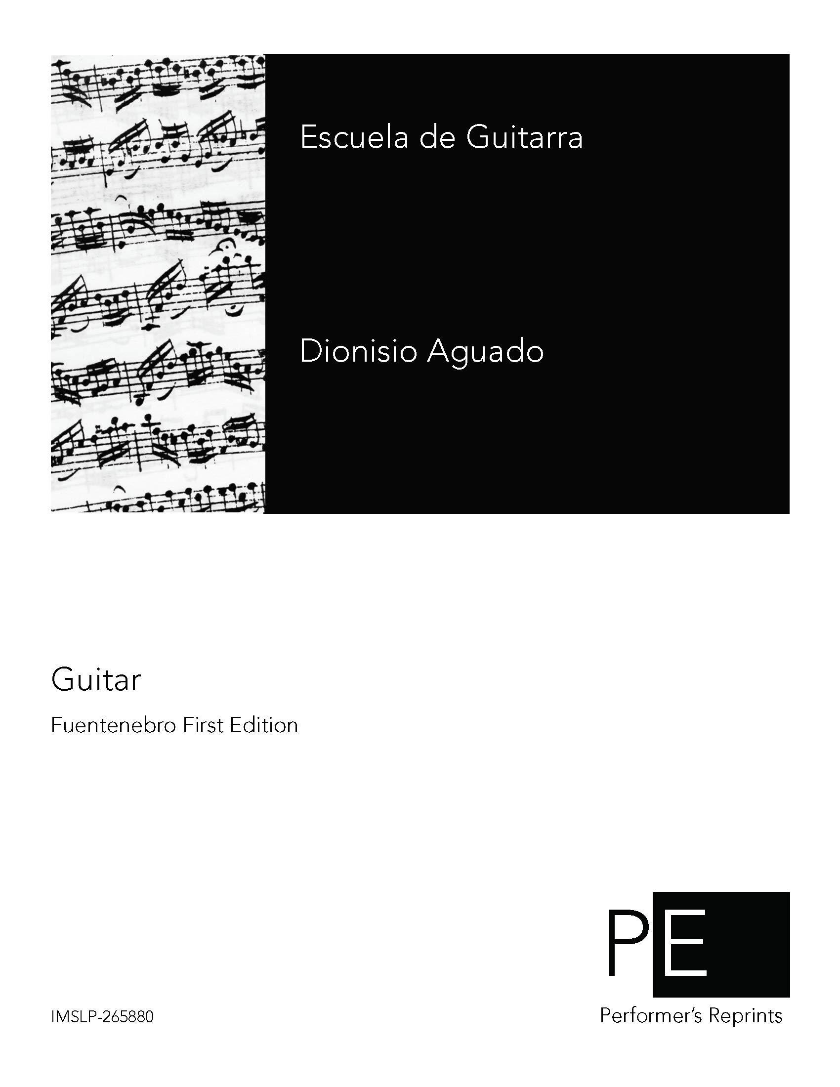 Escuela de guitarra: Amazon.es: Dionisio Aguado: Libros