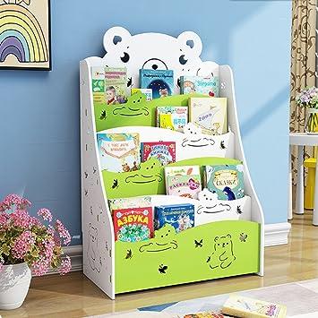 Kinder B/ücherregal Kinderregal Spielzeugregal Standregal Kinderzimmer Regal
