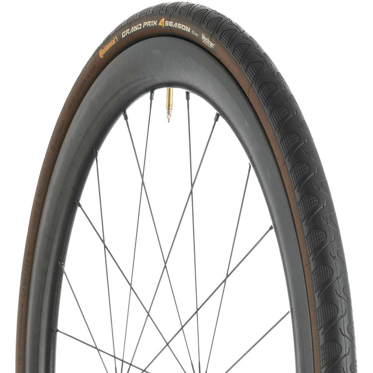 Continental Grand Prix 4 Season Tire - Clincher Black-Duraskin, 700c x 28mm