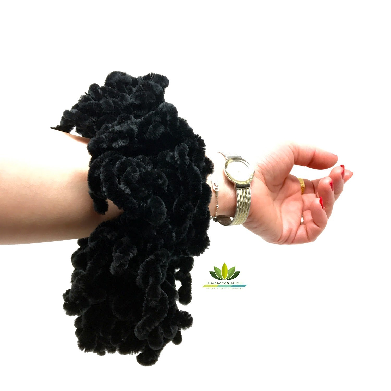 Velvet Hijab Hair Scrunchie Big Tie Bun Clip Volumising Scarf Volumizer Bobble