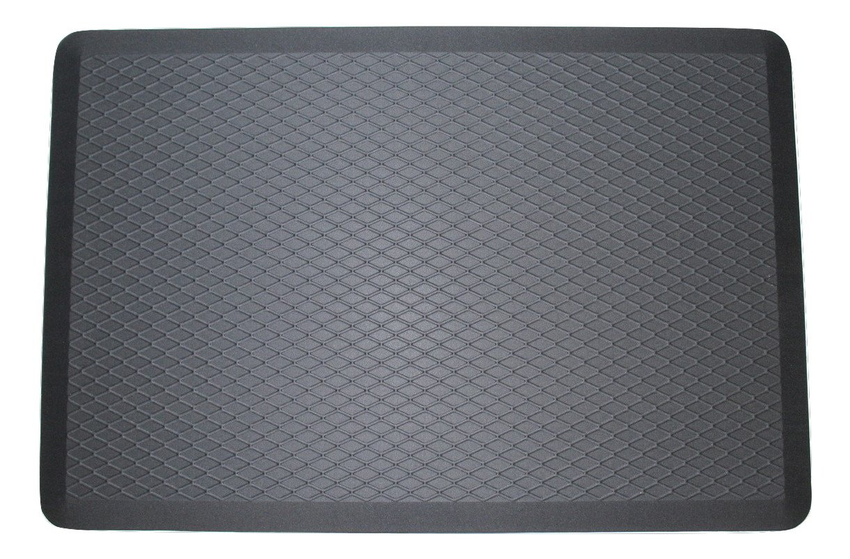 ComfortElite Anti Fatigue Mat | Made in USA | 24 x 36 x 3/4 inch | Cushion Mat For Long Time Standing Comfort | Commercial Grade Luxury Floor Mat for Office Standup Desk, Kitchen