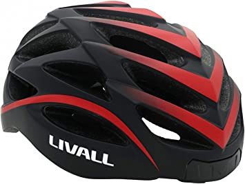 LIVALL BH62 - Casco de Bicicleta, con Luces LED, Intermitentes ...