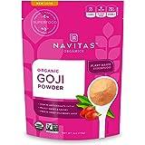 Navitas Organics Goji Powder, 4oz. Bag — Organic, Non-GMO, Sun-Dried, Sulfite-Free