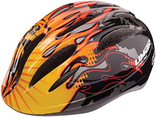 Limar 242 - Casco de ciclista dragon flame Talla:small