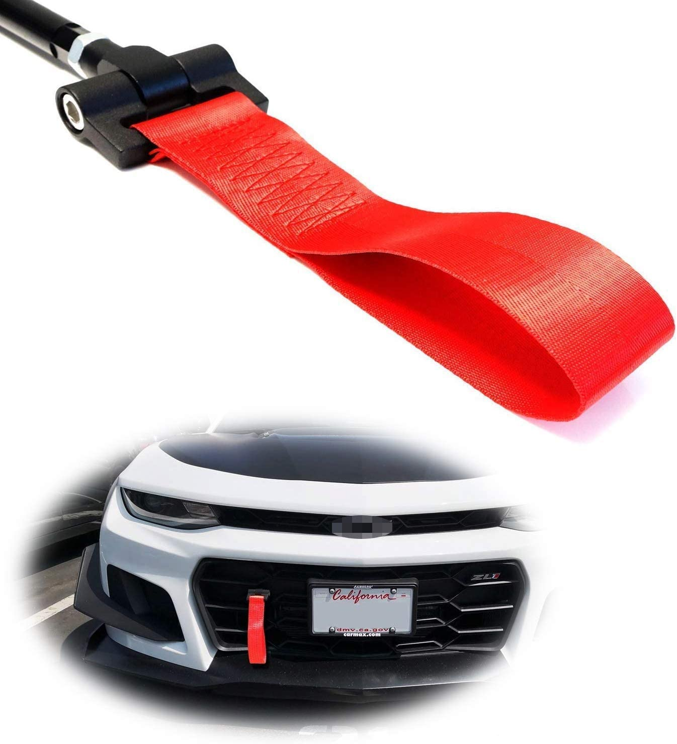 RASTP High Strength Tow Strap Red