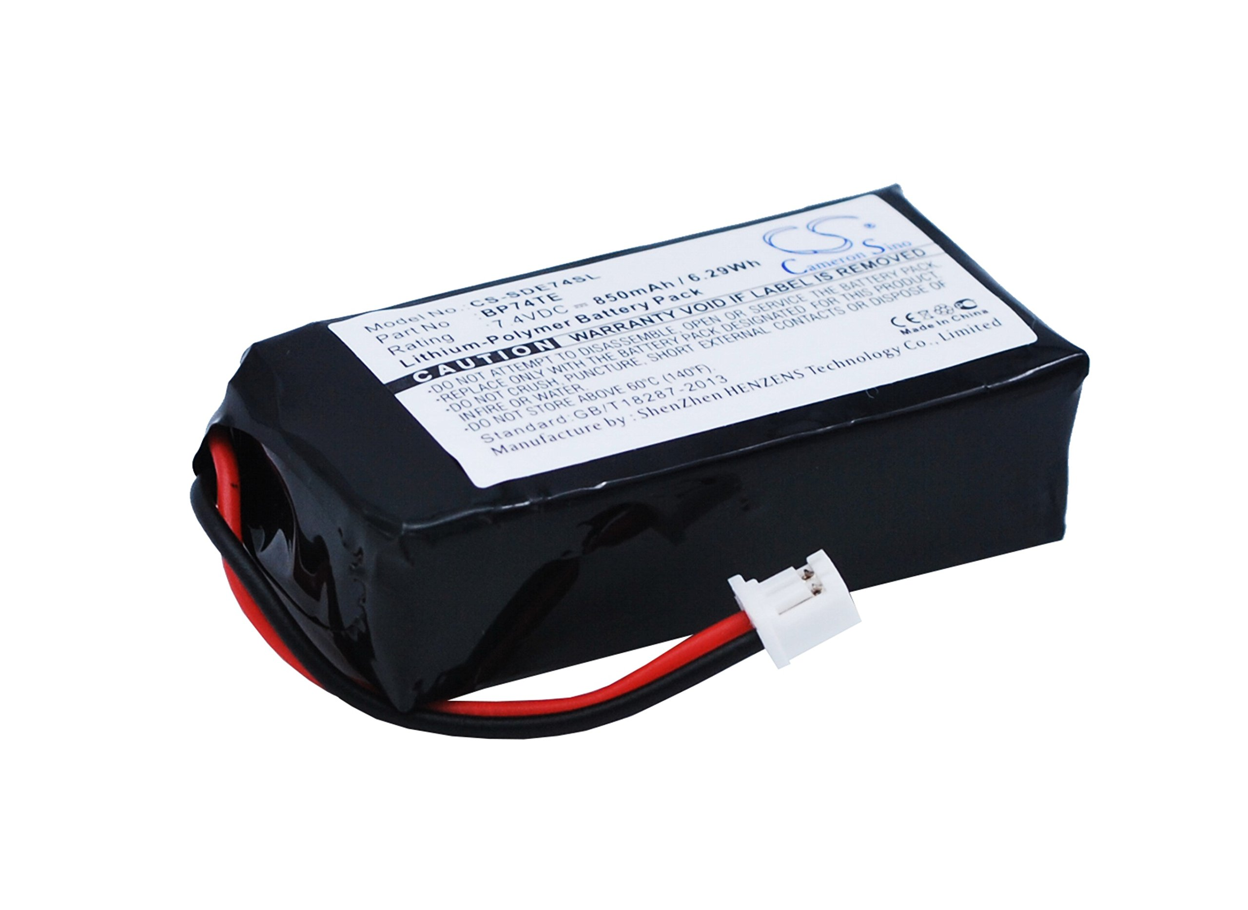 Battery Replacement for DOGTRA DA212 Edge RT Transmitter Edge Transmitter Edge TX BP74TE by BCXY