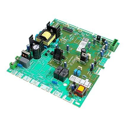 BRITISH GAS BG330 BOILER PRINTED CIRCUIT BOARD PCB 2000802731 WAS 801719  802731