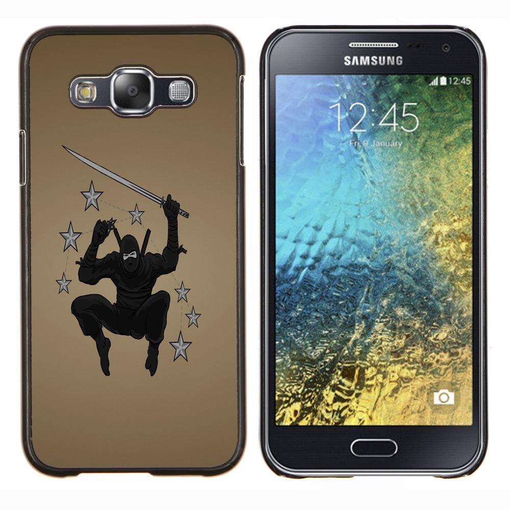 For Samsung Galaxy E5 E500 , S-type Guerrero ninja
