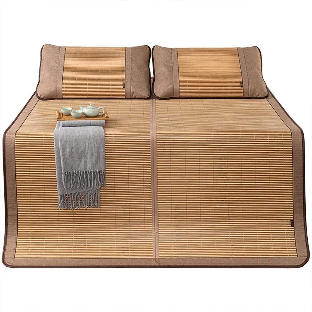 マットレス 竹の冷却のマットレス、枕カバーが付いている夏の睡眠のマットの夏の冷却の跳躍のパッドの夏の寝具 (Size : W1.8mx2.00m) B07TH2B37M  W1.8mx2.00m