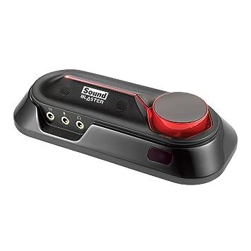 Creative Sound Blaster Omni Surround 5.1 - Tarjeta de Sonido Externa (micrófono Dual, tecnología Audio SBX Pro Studio, Amplificador Auriculares 600 ...